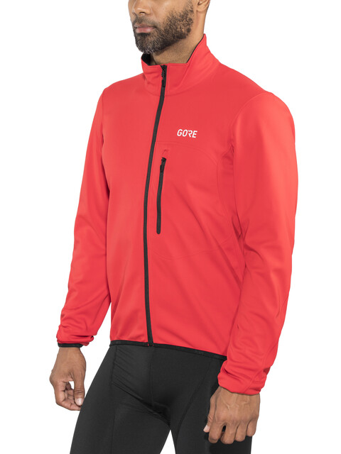 GORE WEAR C3 Windstopper Element Jacket Men red